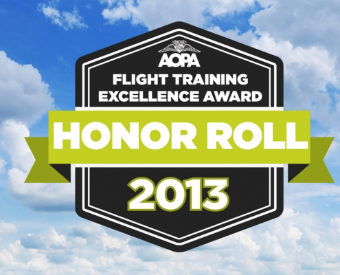 AAAS Named to Flight Training Honor Roll