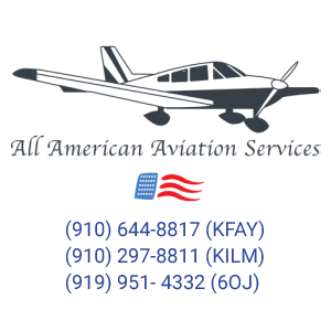 Pilot Training and Aircraft Rentals in Fayetteville